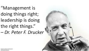 Drucker over Leiderschap en Management